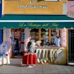 la bottega dell'arte a Burano